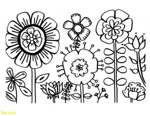 Printable Coloring Pages Of Flowers and butterflies - Coloring Page Flower Fresh Coloring Pages Flowers Beautiful Flower Free Printable at Color 8d