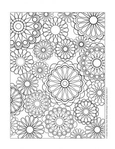 Printable Coloring Pages Of Flowers and butterflies - Best Of Cute Henna Flower Coloring Pages Gallery Printable Coloring Sheet 1000x1294 Cute Flower Coloring 6g