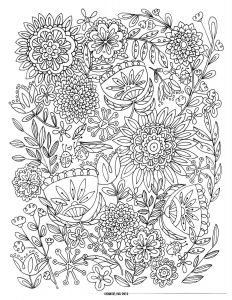 Printable Coloring Pages Of Flowers and butterflies - I Have A Super Fun Activity to Do with these Free Coloring Pages Printable Flower 8k