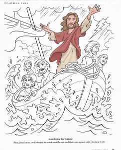 Printable Coloring Pages Of Jesus Walking On Water - Walks Water Coloring Page Catgames Matthew 8 23 27 Mark 4 35 41 Luke 8 22 25 Jesus Has Power Over 7o