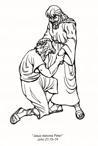 Printable Coloring Pages Of Jesus Walking On Water - Coloring Pages Of Jesus Perfect Peter and John at the Temple Coloring Page Of Coloring Pages 20a