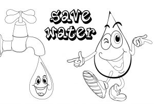 Printable Coloring Pages Of Jesus Walking On Water - Water Drop Coloring Page Water Cycle Coloring Sheet Unique Water Drop Coloring Page 20l