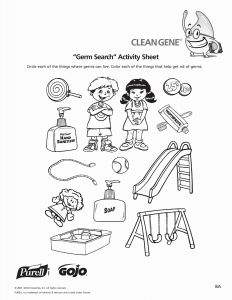 Printable Hand Washing Coloring Pages - Germs Worksheet Worksheets for All Hand Washing Coloring Pages 8m