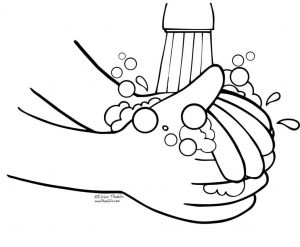 Printable Hand Washing Coloring Pages - Nice Washing Hands Coloring 18 Remodel with Washing Hands Coloring 4r