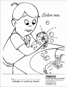 Printable Hand Washing Coloring Pages - Printable Hand Washing Coloring Pages Beautiful Coloring Pages Kids Learning Hand Washing Coloring Pages Free for 4t
