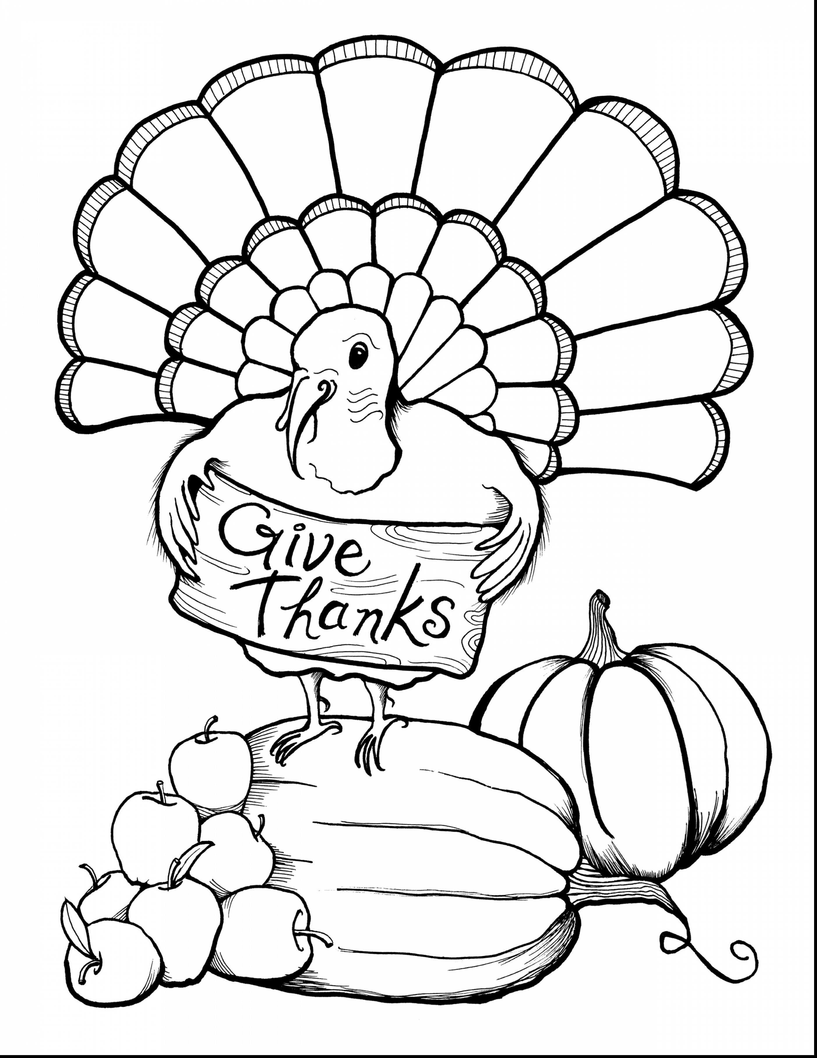 printable happy thanksgiving coloring pages Collection-Best of Printable Thanksgiving Coloring Pages Download 10 o incredible thanksgiving turkey coloring page 16-e