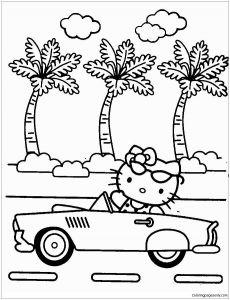 Printable Hello Kitty Coloring Pages - 20 Elegant Hello Kitty Coloring Pages 10k