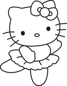 Printable Hello Kitty Coloring Pages - Free Printable Hello Kitty Coloring Pages for Kids Frisch Hello Kitty Ausmalbilder 18h