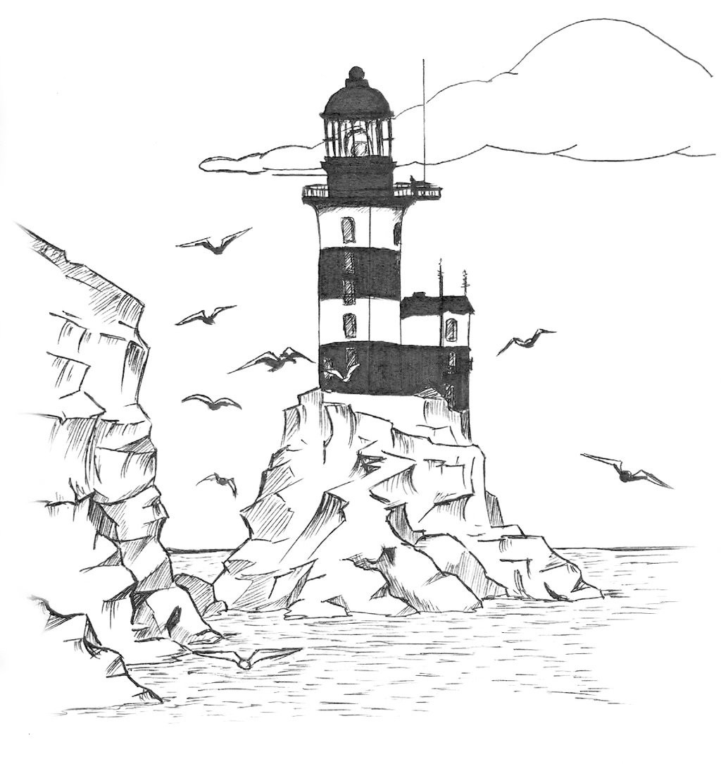 printable lighthouse coloring pages Collection-Cape Hatteras Lighthouse Drawing at Getdrawings Coloring Pages Summer Season for Kids Drawing Free 14-f