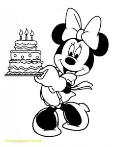 Printable Minnie Mouse Coloring Pages - Baby Mickey Mouse Coloring Pages to Print New Minnie 1s