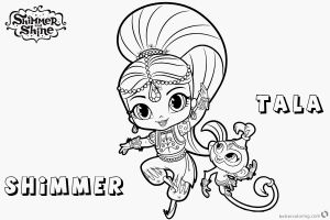 Printable Shimmer and Shine Coloring Pages - Shimmer and Shine Printable Coloring Pages 12 Inspirational Shimmer and Shine Printable Coloring Pages 13p