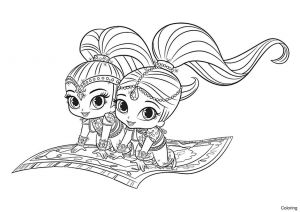Printable Shimmer and Shine Coloring Pages - Monster Legends Coloring Pages Best Portfolio Nick Jr Coloringshimmer and Shine Coloring Book 6k