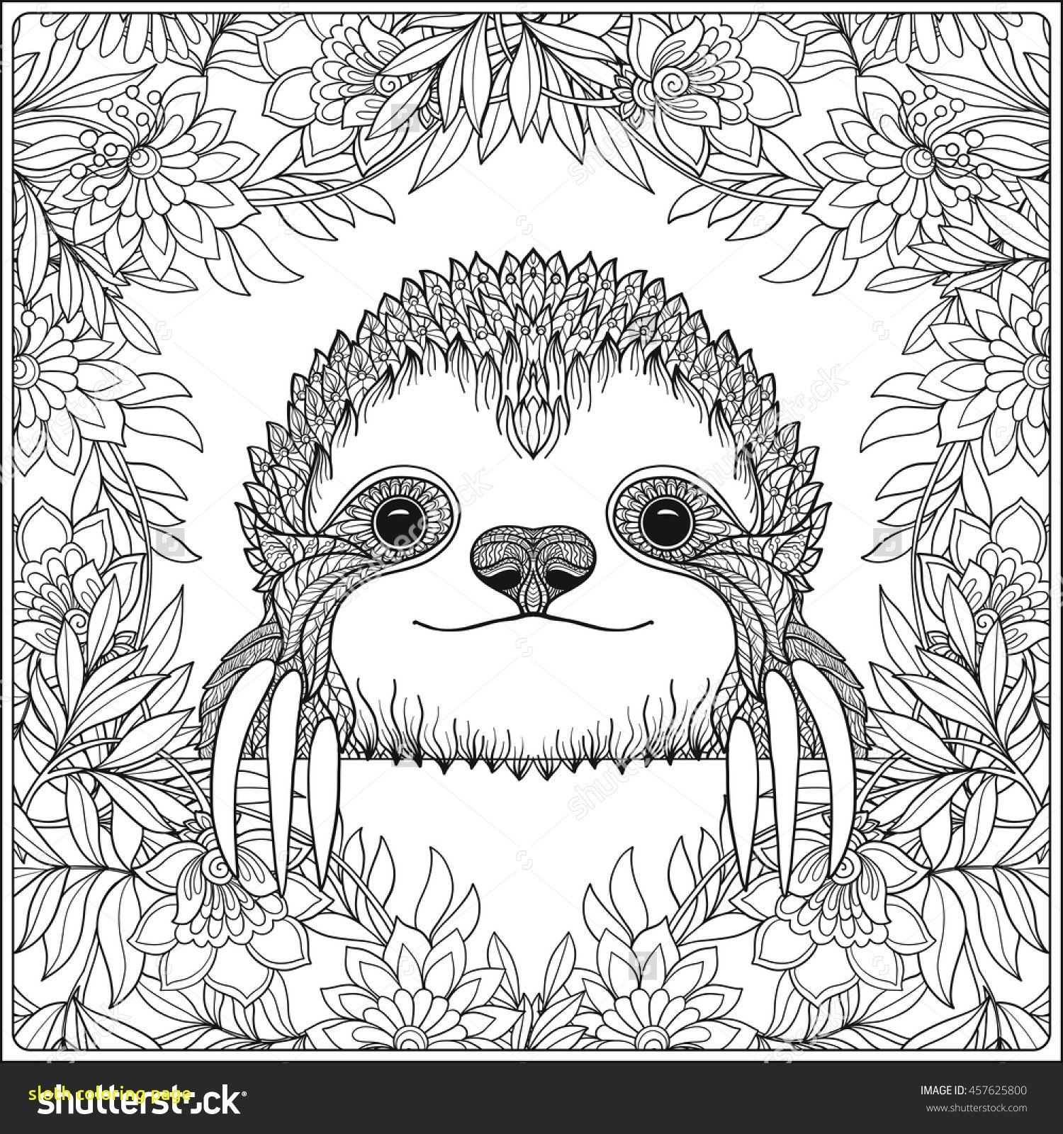 printable sloth coloring pages Download-Sloth Coloring Pages 11-h