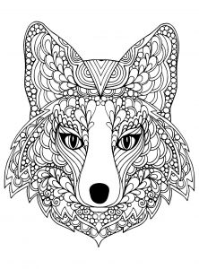 Printable Sloth Coloring Pages - Coloring Page Beutiful Fox Head Free to Print 9s