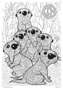 Printable Sloth Coloring Pages - Art Thérapie Le Monde De Dory 20k