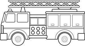 Printable Truck Coloring Pages - Fire Truck Coloring Pages Free Fire Truck Coloring Pages Printable Elegant Big Fire Truck Coloring 17l