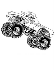 Printable Truck Coloring Pages - Free Printable Monster Truck Coloring Pages for Kids Best Ausmalbilder Monstertruck 2j