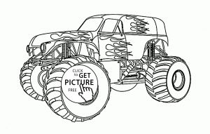 Printable Truck Coloring Pages - Beautiful Monster Truck Coloring Page for Kids Transportation Inspirierend Monstertruck Ausmalbilder 13p