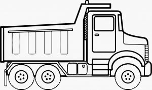 Printable Truck Coloring Pages - Monster Trucks Coloring Pages Construction Coloring Pages Tipper Truck Full Od Sand Coloring Page 19b