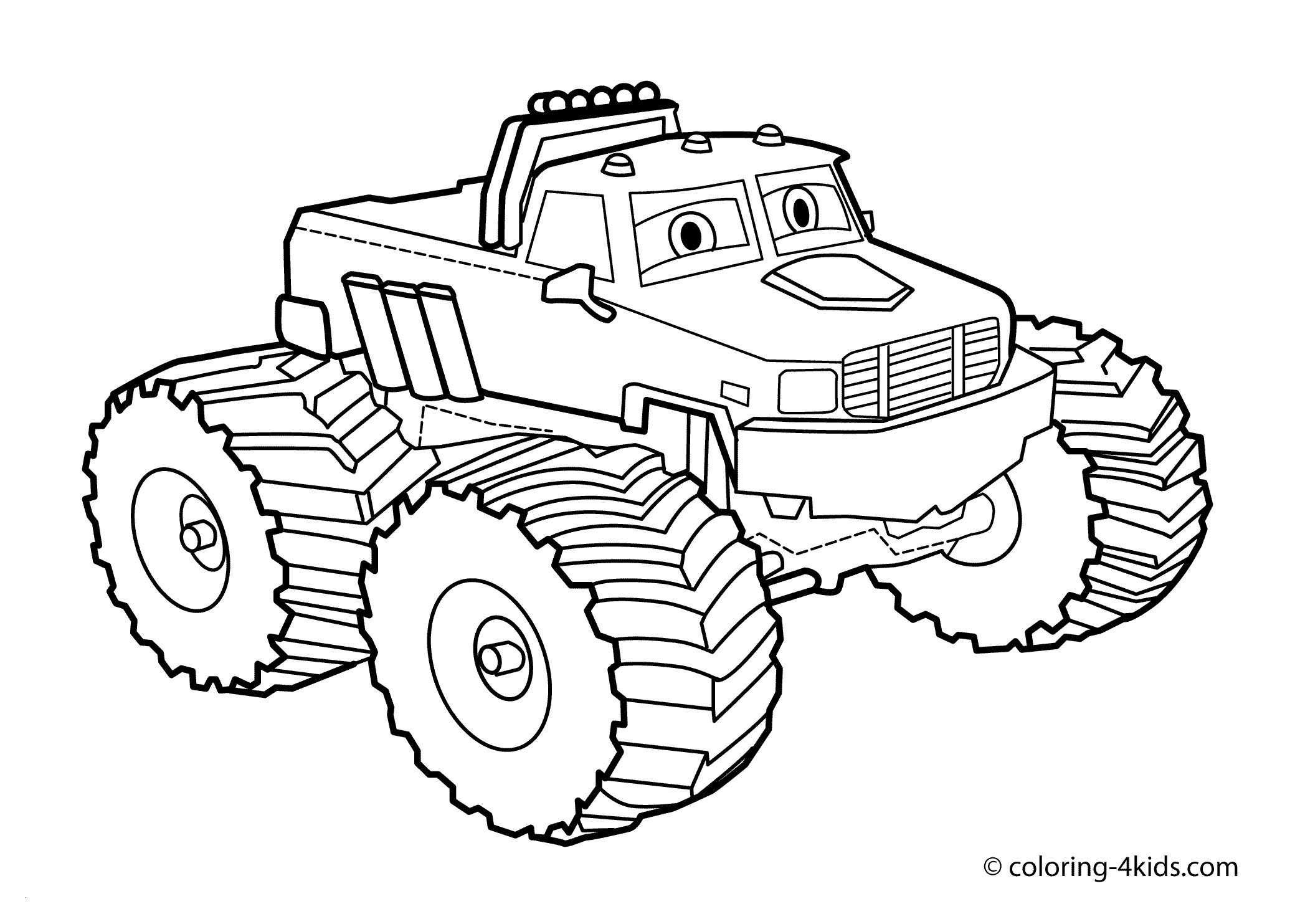 printable truck coloring pages Collection-Monster Truck Coloring Page for Kids Monster Truck Coloring Books Elegant Dino Trucks Ausmalbilder 4-b