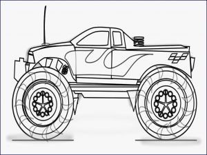 Printable Truck Coloring Pages - Inspirational Monster Trucks Coloring Pages Inspirational Grave Genial Ausmalbilder Truck 15r