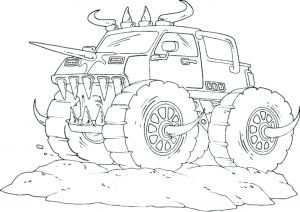 Printable Truck Coloring Pages - Coloring Pages Monster Trucks Grave Digger Kids 13 Luxury Printable Truck Coloring Pages 8b