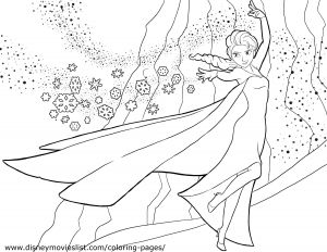 Printing Pages for Coloring - Coloring Pages for Girls Frozen Printable Elsa Coloring Pages Unique Coloring Pages Line New Line Coloring 17a