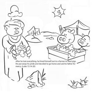 Prodigal son Coloring Pages - Gorgeous Design Ideas Prodigal son Coloring Page Pages Az Inside 12a