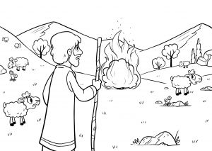 Prodigal son Coloring Pages - Burning Bush Coloring Page Moses Coloring Pages Elegant New Prodigal son Coloring Pages Best 17n