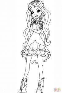 Queen Coloring Pages - Ever after High Raven Queen Coloring Page Einzigartig Ausmalbilder Ever after High 1p