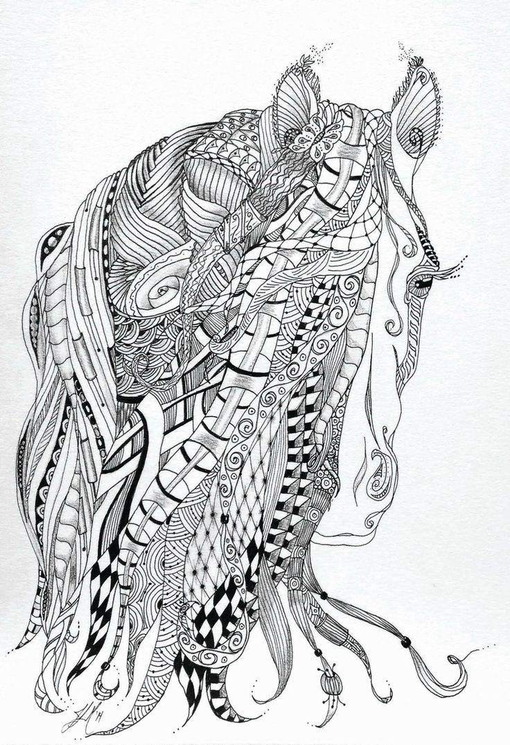 29 Real Horse Coloring Pages to Print Collection ...