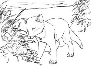 Realistic Fox Coloring Pages - Fox Coloring Page Fox Free Printable Coloring Pages Animals 6j