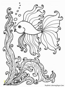Realistic Fox Coloring Pages - Ocean Animals Coloring Pages 13w Fresh Sea Fish Best S Media Cache Ak0 Pinimg originals 0d 4c