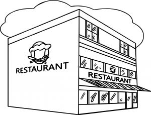 Restaurant Coloring Pages - Restaurant Coloring Pages Free Coloring Sheets 8r