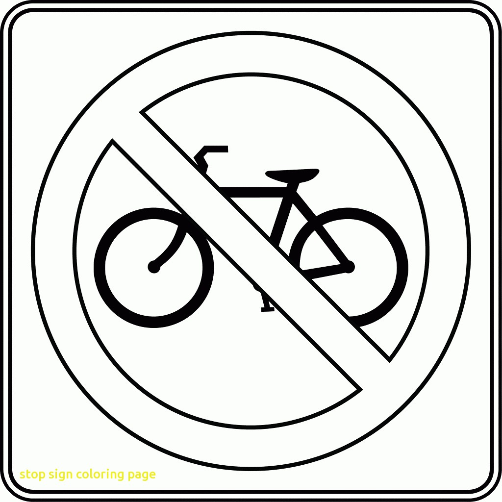 safety signs coloring pages Download-Stop Sign Coloring Page With 100 Ideas Traffic Pages 8-m