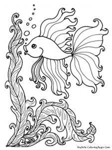 Saltwater Fish Coloring Pages - Fish Coloring Book Best Best Printable Fish Coloring Pages Coloring Pages 25 New Fish 17p