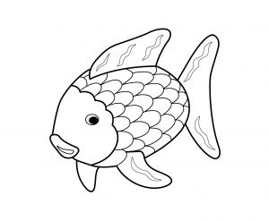Saltwater Fish Coloring Pages - the Rainbow Fish Coloring Page Rainbow Fish Coloring Page 14 1l