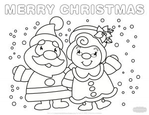 Santa Claus Coloring Pages - Rudolph Coloring Pages 11j