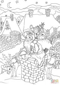 Santa Claus Coloring Pages - Coloring Pages to View Printable Version or Color It Online Patible with Ipad and android Tablets 1s