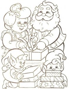 Santa Claus Coloring Pages - Christmas Coloring Families Mr Santa Claus Christmas Coloring Pages Printable Families Mr 19q