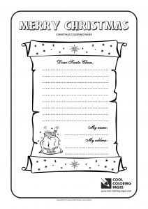 Santa Claus Coloring Pages - Letter to Santa Claus Address Best Cool Coloring Pages Christmas Letter to Santa Claus No 1 Page 18p