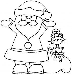 Santa Claus Coloring Pages - Santa Claus Coloring Pages Santa Claus Coloring Pages Christmas Wreath Color Page Holidays Pdf 12p