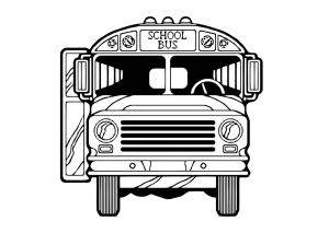 School Bus Coloring Pages Printable - Bus Colouring Pages to Print School Bus Printable Coloring Pages the 11d