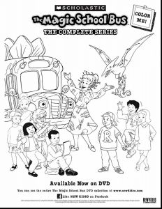 School Bus Coloring Pages Printable - Printable Magic School Bus Coloring Page School Bus Coloring Page Stylish School Bus Coloring Page New Magic 18g
