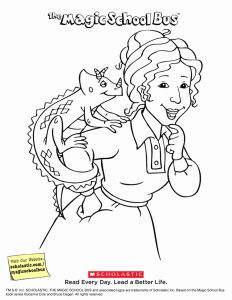 School Bus Coloring Pages Printable - Magic School Bus Worksheet Lovely Synthesis Coloring Sheet Awesome Magic School Bus Printable 17o