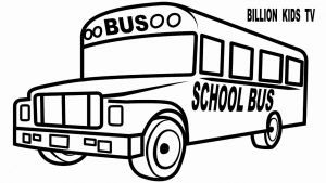 School Bus Coloring Pages Printable - School Bus Coloring Page School Bus Coloring Pages Printable Nice How to Draw School Bus for 1g