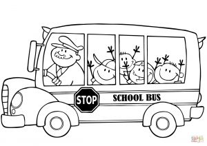School Bus Coloring Pages Printable - Coloring Pages School Buses 12o