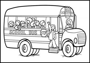 School Bus Coloring Pages Printable - Magic School Bus Coloring Page School Bus Coloring Page Best School Bus Coloring Page to Print 17f