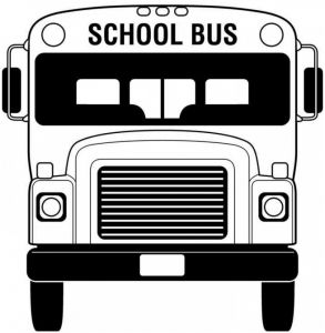 School Bus Coloring Pages Printable - School Supplies Coloring Pages Learnfree Me School Bus Coloring Page 8d