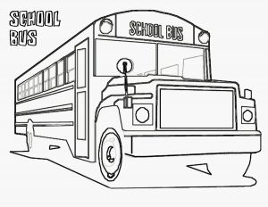 School Bus Coloring Pages Printable - Bus Coloring Pages Unique Coloring Sheet School Bus Gallery 11o